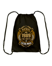 Abril 1989 The Birth of Legends Drawstring Bag thumbnail