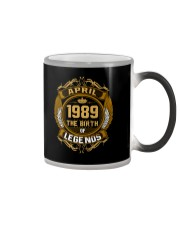 Abril 1989 The Birth of Legends Color Changing Mug thumbnail