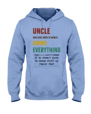 March uncle knows Hooded Sweatshirt thumbnail