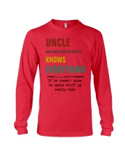 March uncle knows Long Sleeve Tee thumbnail