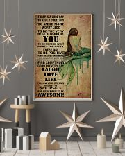 Poster Mermaid laugh love live 24x36 Poster lifestyle-holiday-poster-1