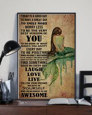 Poster Mermaid laugh love live 24x36 Poster lifestyle-poster-2