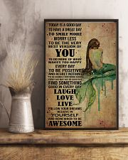 Poster Mermaid laugh love live 24x36 Poster lifestyle-poster-3