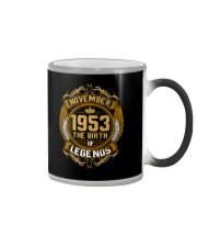 November 1953 The Birth of Legends Color Changing Mug thumbnail