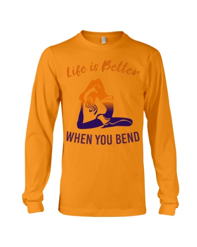 yoga life is better