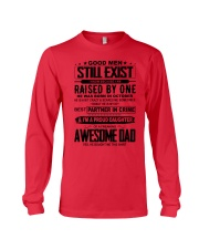 October Awesome Dad Long Sleeve Tee thumbnail