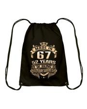 Made in 67-52 years Drawstring Bag thumbnail