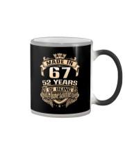 Made in 67-52 years Color Changing Mug thumbnail