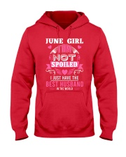 June girl best husband Hooded Sweatshirt thumbnail