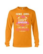 June girl best husband Long Sleeve Tee thumbnail