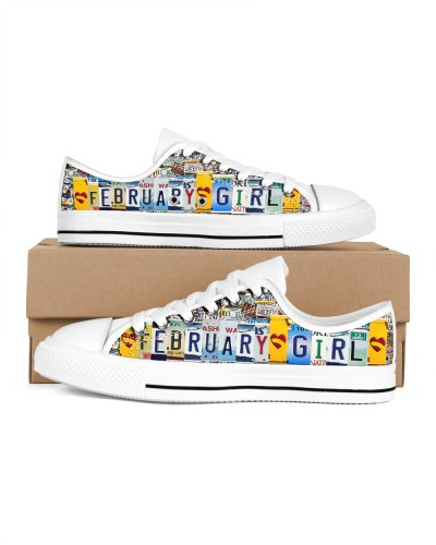 February Girl Shoes lowtop