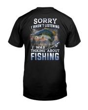 Fishing-thinking about Classic T-Shirt back