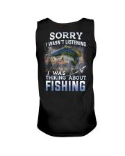 Fishing-thinking about Unisex Tank thumbnail