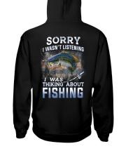 Fishing-thinking about Hooded Sweatshirt thumbnail