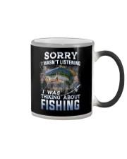 Fishing-thinking about Color Changing Mug thumbnail