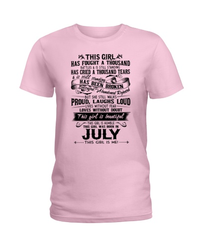 July girl proud