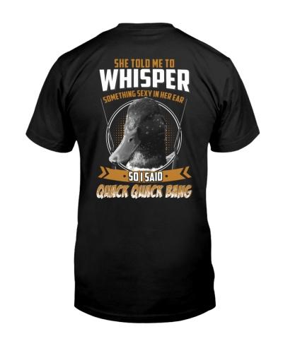 Hunting-whisper