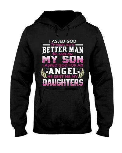 he sent me my daughters
