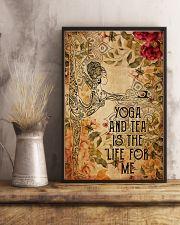 Poster Yoga yoga and tea 24x36 Poster lifestyle-poster-3