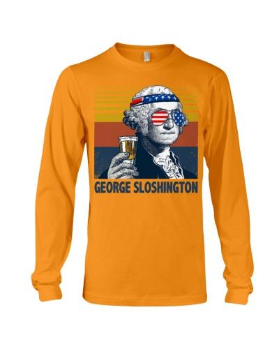 Funny George drinkin