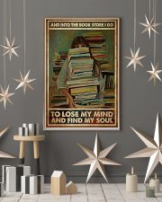Poster Book into the bookstore i go 24x36 Poster lifestyle-holiday-poster-1