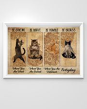 Poster cat be strong everyday 36x24 Poster poster-landscape-36x24-lifestyle-02
