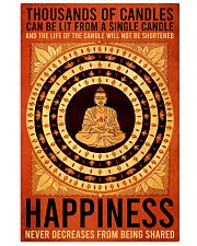 Poster Yoga happiness 24x36 Poster front
