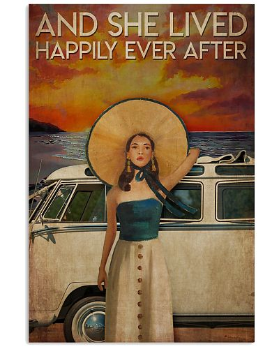 Poster Mermaid happily ever