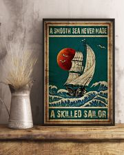 Poster Mermaid a smooth sea 24x36 Poster lifestyle-poster-3