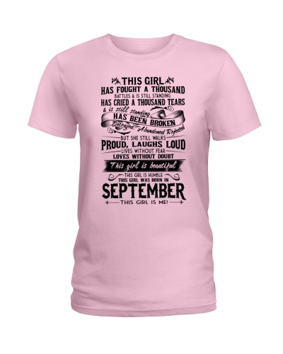September girl proud
