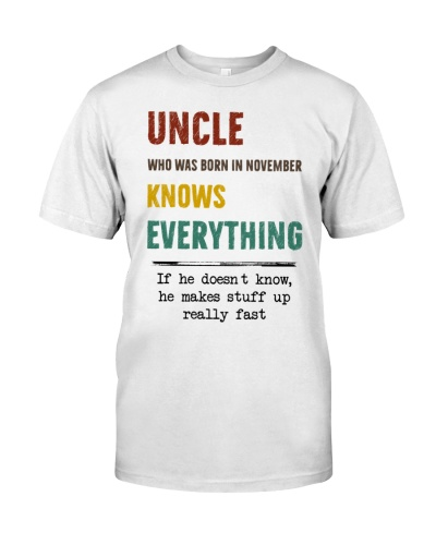 November uncle knows