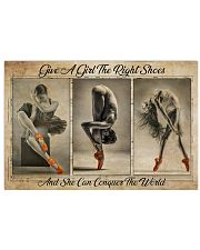 Poster Ballet give a girl 36x24 Poster front