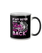 Fishing-my sister Color Changing Mug thumbnail