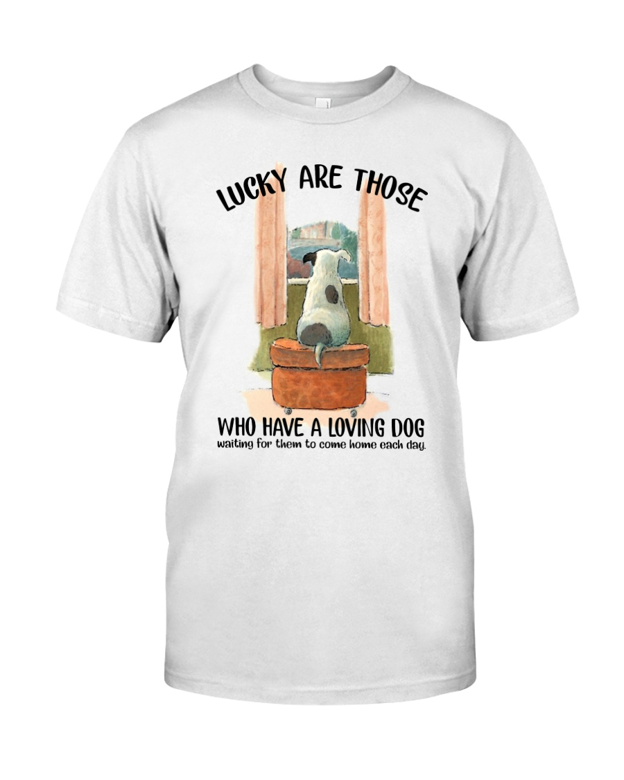 Dogs lucky are those Classic T-Shirt