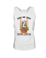 Dogs lucky are those Unisex Tank thumbnail