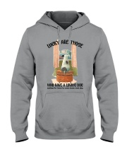 Dogs lucky are those Hooded Sweatshirt thumbnail