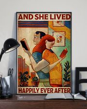 Poster Book Couple Live Happily 24x36 Poster lifestyle-poster-2