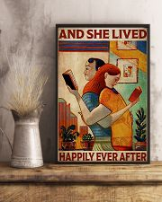Poster Book Couple Live Happily 24x36 Poster lifestyle-poster-3