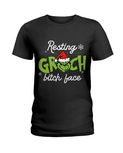 christmas bitch face