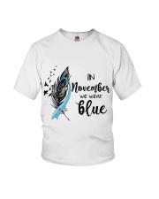november blue Youth T-Shirt thumbnail