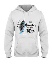 november blue Hooded Sweatshirt thumbnail