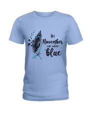 november blue Ladies T-Shirt front