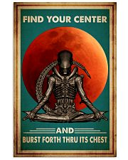 Poster Yoga center 24x36 Poster front