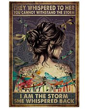 Poster Yoga the storm 24x36 Poster front