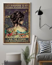 Poster Yoga the storm 24x36 Poster lifestyle-poster-1