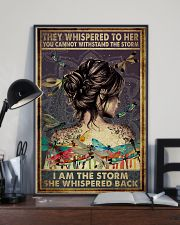 Poster Yoga the storm 24x36 Poster lifestyle-poster-2