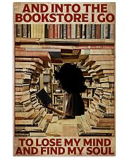 Poster Book and into the bookstore 24x36 Poster front