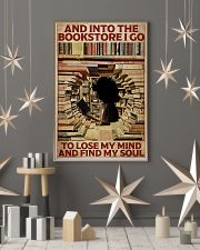 Poster Book and into the bookstore 24x36 Poster lifestyle-holiday-poster-1