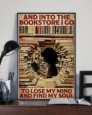 Poster Book and into the bookstore 24x36 Poster lifestyle-poster-2