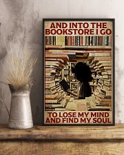 Poster Book and into the bookstore 24x36 Poster lifestyle-poster-3